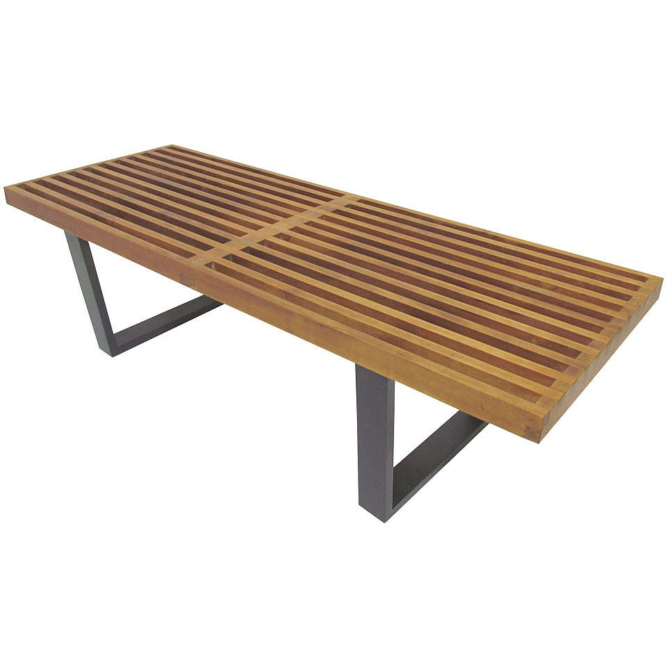Classic Platform Slat Bench By George Nelson For Herman Miller Circa 1950s At 1stdibs