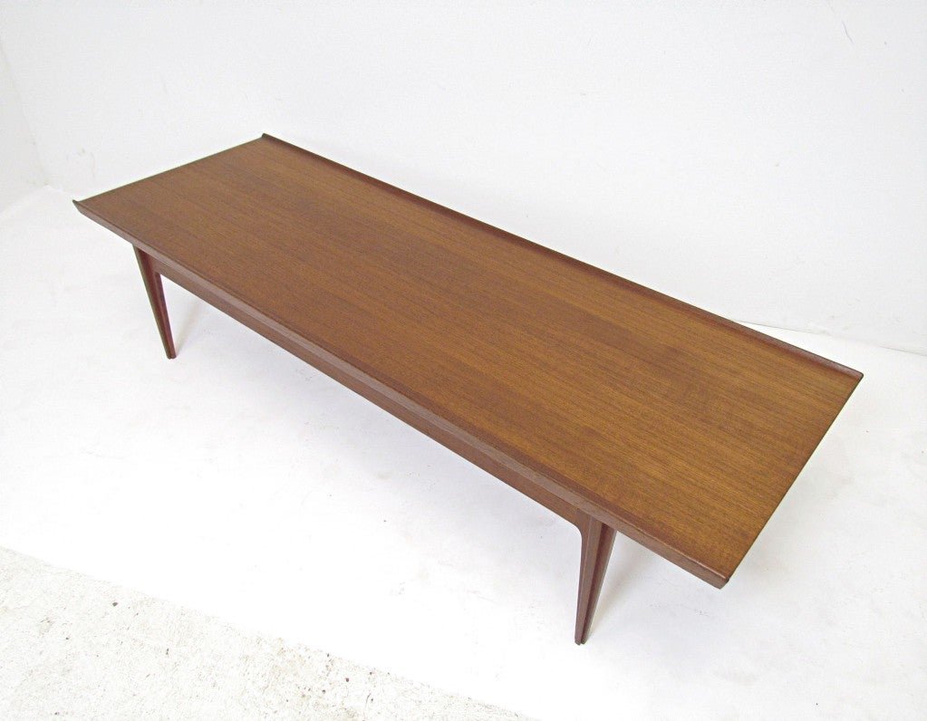 Danish Teak Coffee Table By Finn Juhl For France And Son At 1stdibs