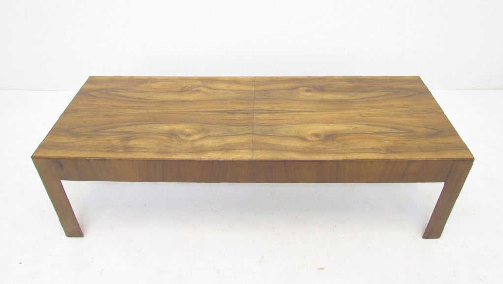 Mid Century Modern Italian Olive Burl Wood Coffee Table At 1stdibs