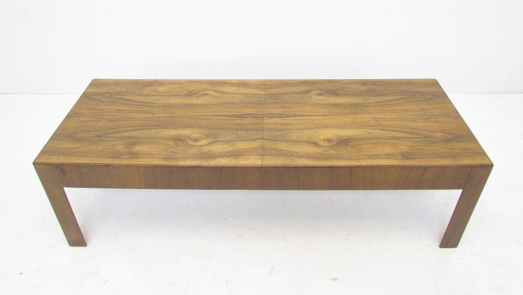 Mid Century Modern Italian Olive Burl Wood Coffee Table At 1stdibs