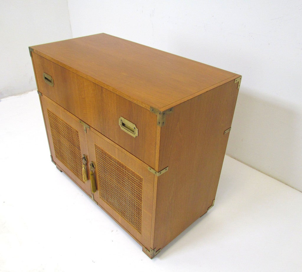 Baker Campaign Chest at 1stdibs