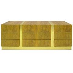 Long Low Dresser in Rosewood by Milo Baughman