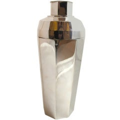 Art Deco Silver-Plated Cocktail Shaker