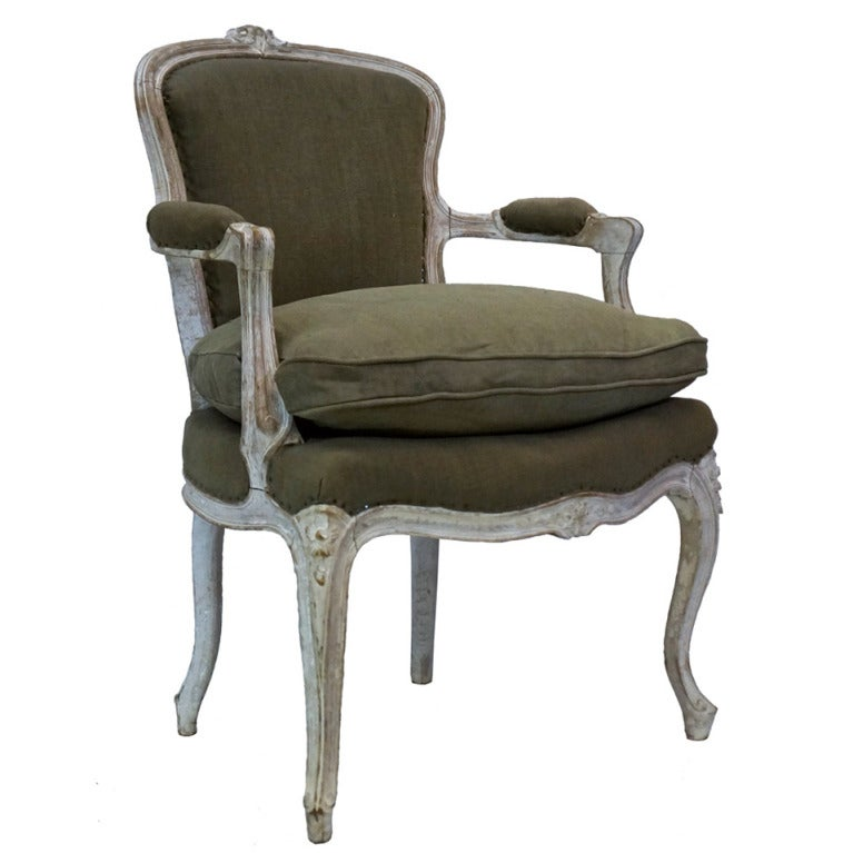 18th Century Louis Xv Fauteuil At 1stdibs