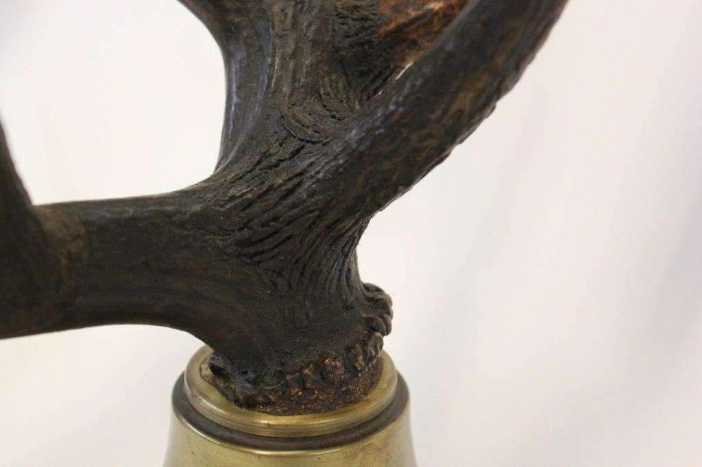 Stag Horn Candelabras Set 8