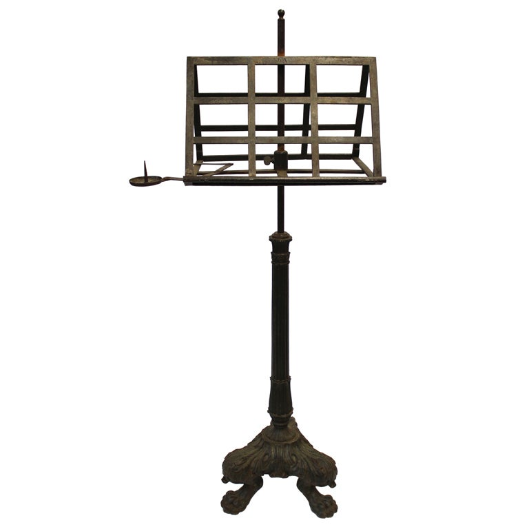 French Lutrin Style Stand