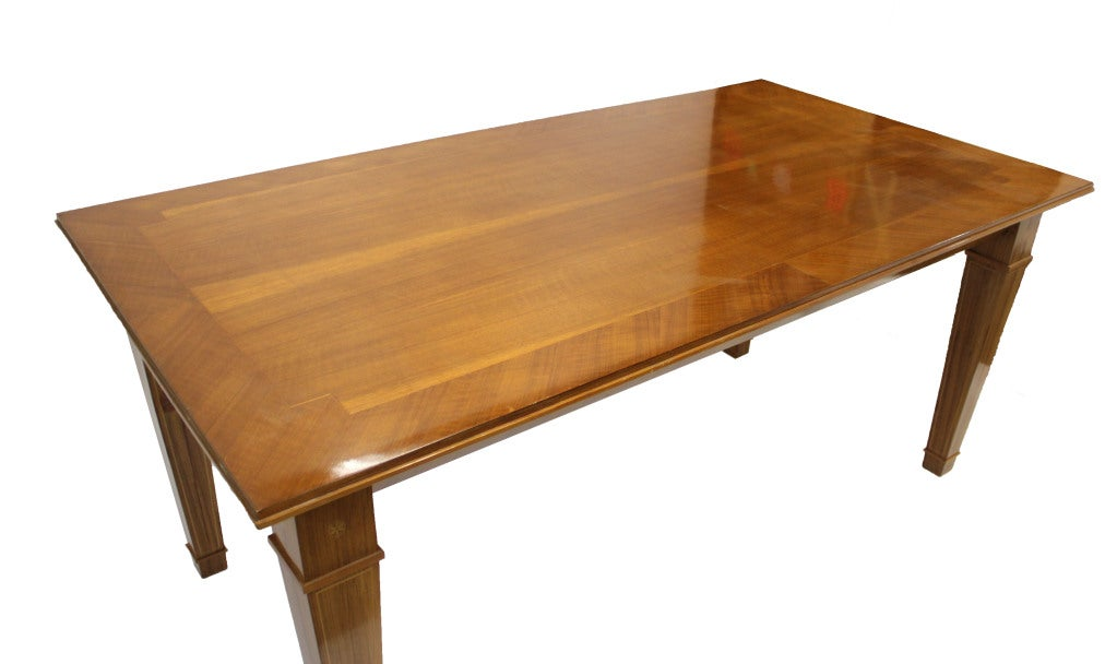 Mission style dining furniture the for Styling a dining table
