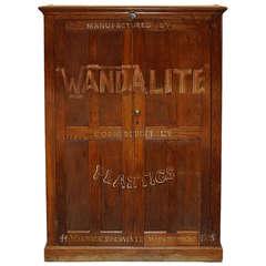Plastics Cabinet by Wandalite