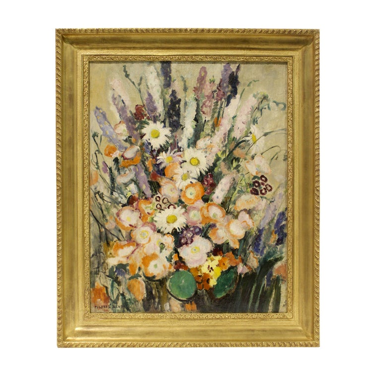 Still Life of Flowers by Mildred Bendall