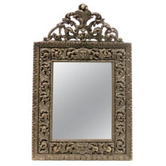 Hand-Carved Wall Mirror
