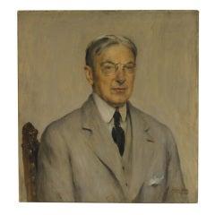 Portrait of Gentleman  by Walter Vaes