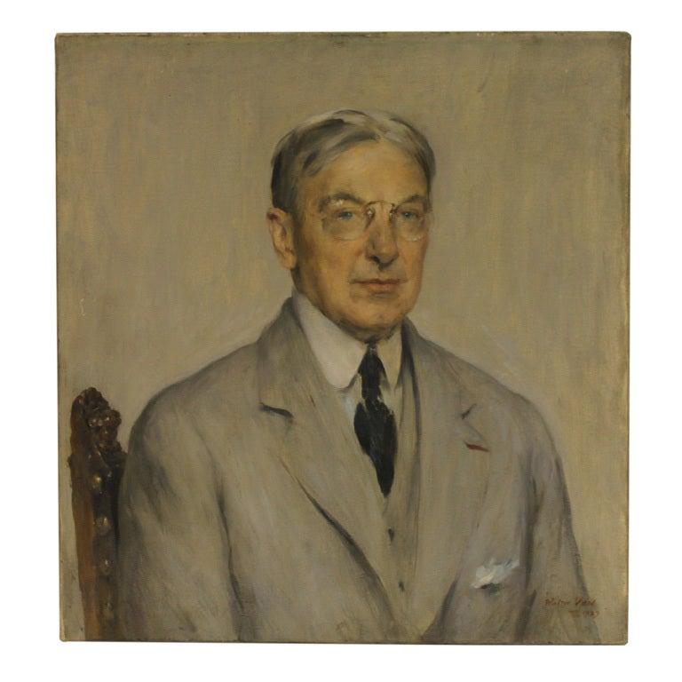 Portrait of Gentleman  by Walter Vaes 1