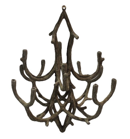 Concrete branch candle chandelier at 1stdibs - Chandelier a 5 branches ...