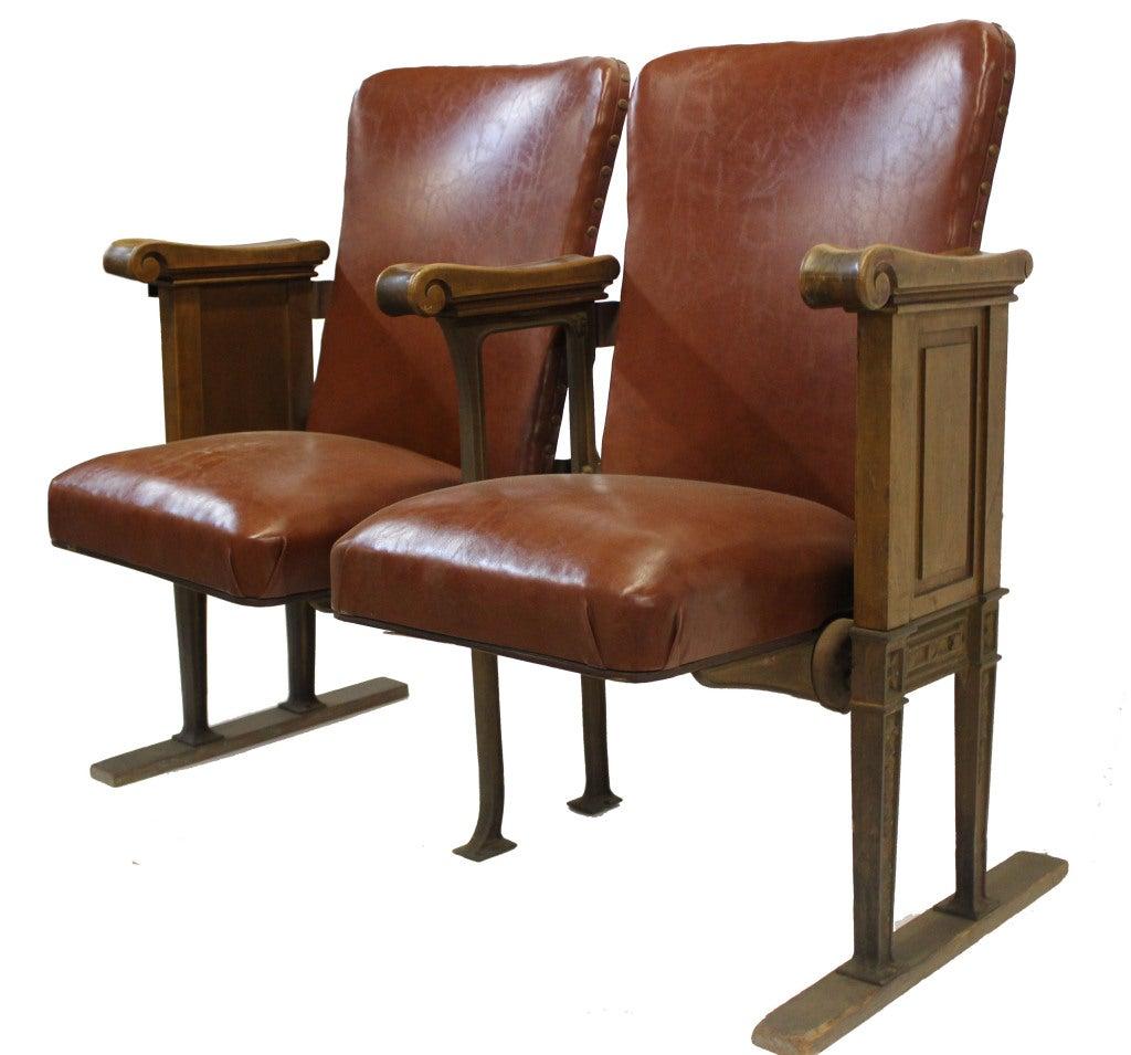 Vintage Theatre Seats At 1stdibs