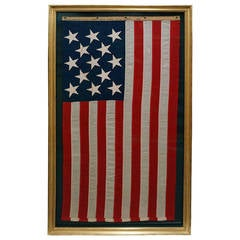 Thirteen-Star Brooklyn Navy Yard American Flag