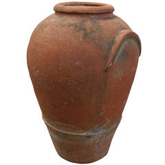 Large 19th Century Terracotta Urn