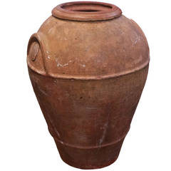 Large 19th Century, Terracotta Urn