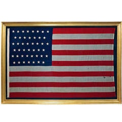 45 Star Spanish-American War Period American Flag
