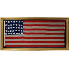 35 Star Civil War Period American Flag