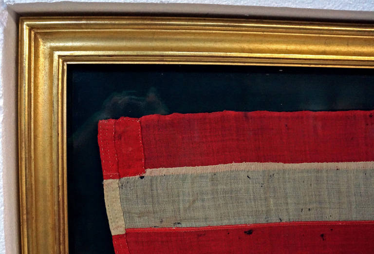 Lamprell And Marble 13 Star American Flag For Sale At 1stdibs