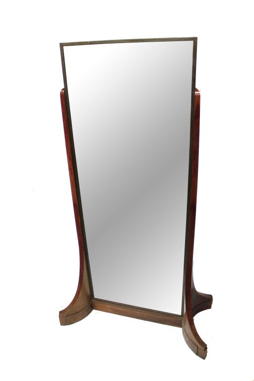 Double Sided Haberdashery Mirror At 1stdibs