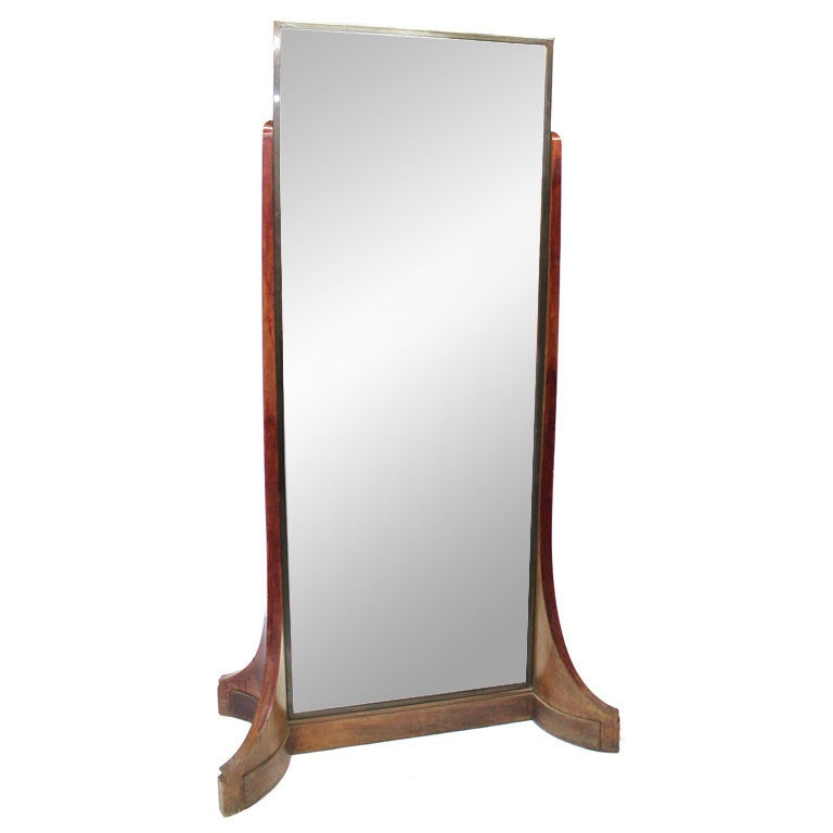 Double sided haberdashery mirror at 1stdibs for Floor length mirror for sale