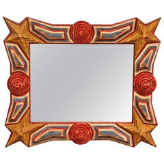 Patriotic Stars and Stripes Mirror
