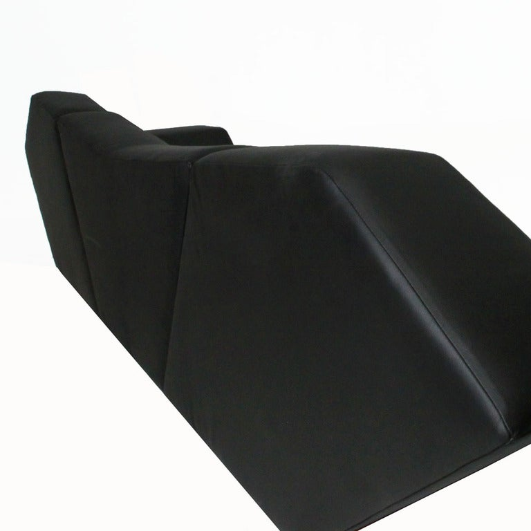 Massive Prototype Geometric Sofa by Zanini De Zanine For Sale 2