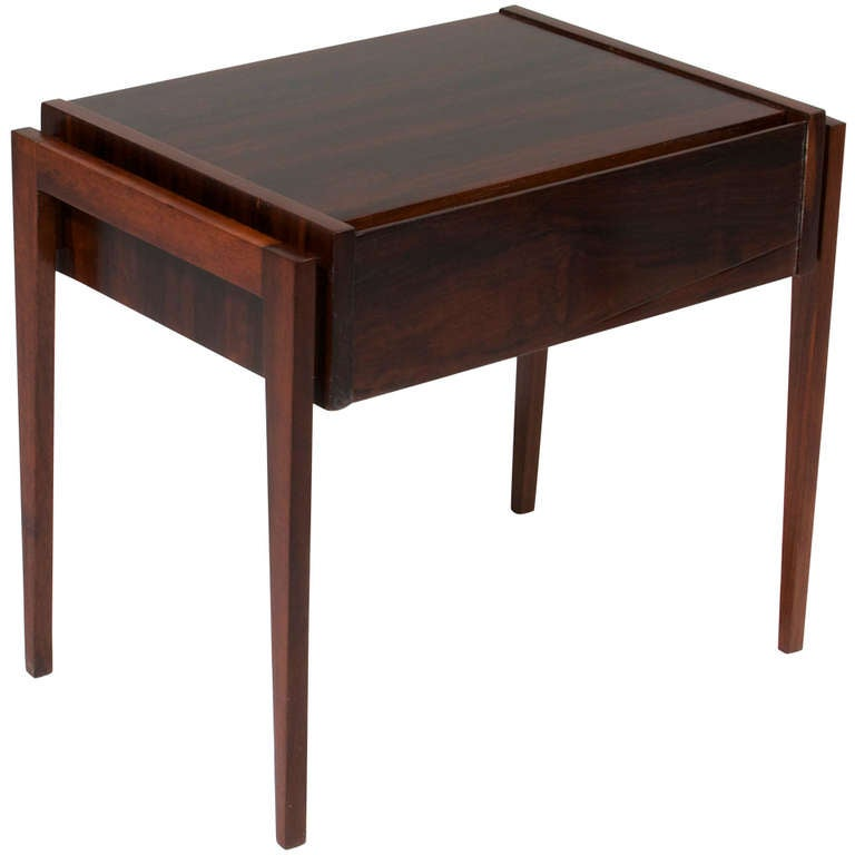 Mid-Modern Petite Side Table by Cimo