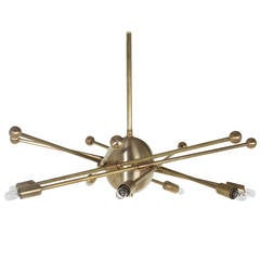 Arana Chandelier with Adjustable Arms by Thomas Hayes Studio