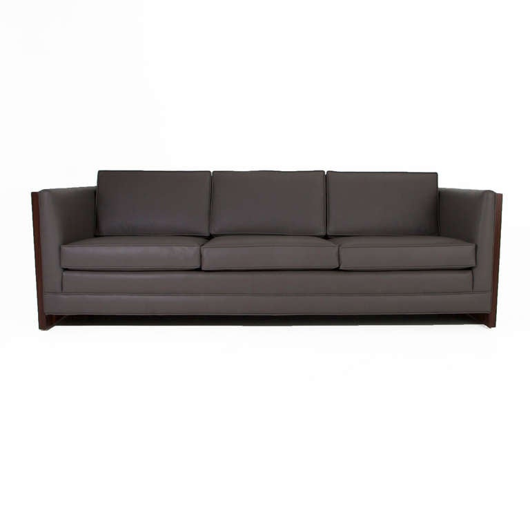Rosewood Case Sofa by Milo Baughman 2