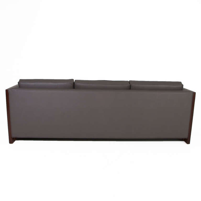 Rosewood Case Sofa by Milo Baughman 5