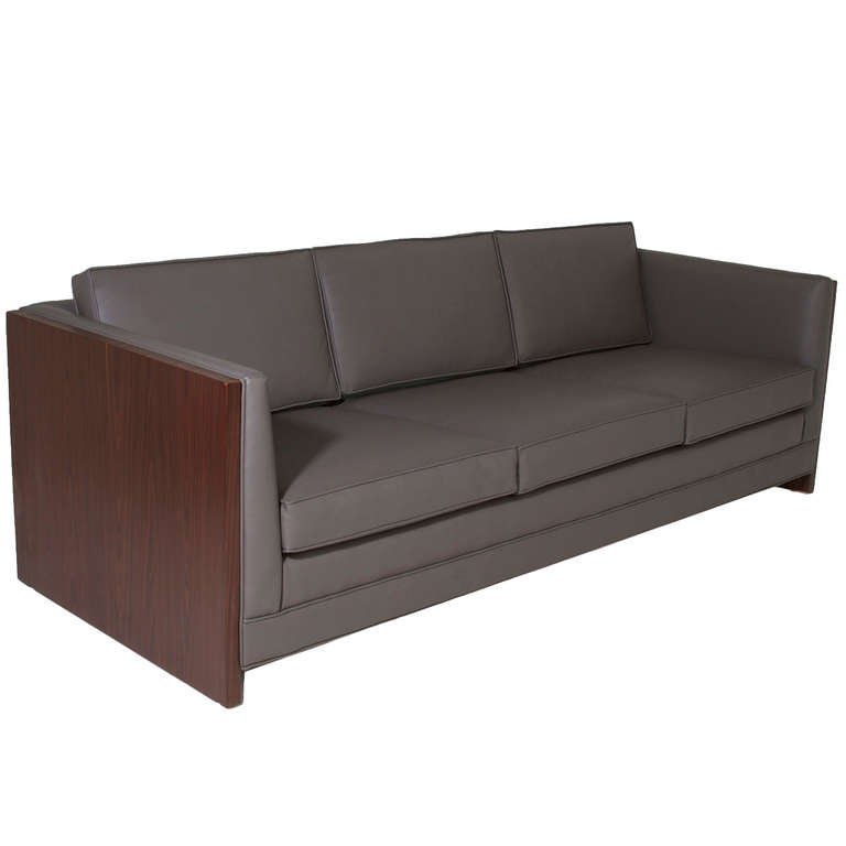 Rosewood Case Sofa by Milo Baughman 1