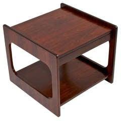 Organic Modern Brazilian Hardwood Side Table