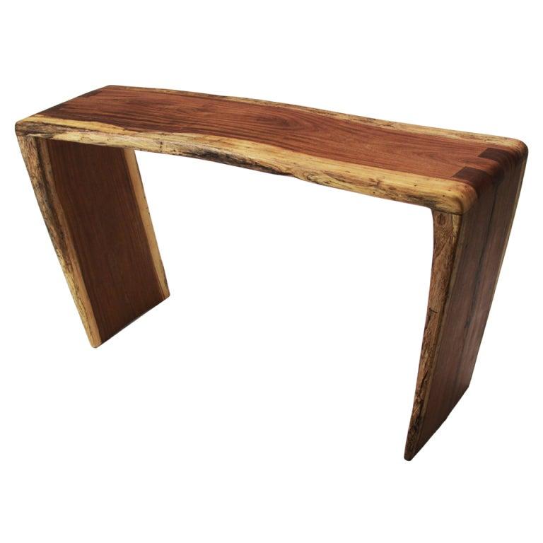 Tunico T.  Solid Jatoba Console Table
