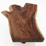 Live Edge Solid Slab Of Tamboril Coffee Table by Tunico T. image 4