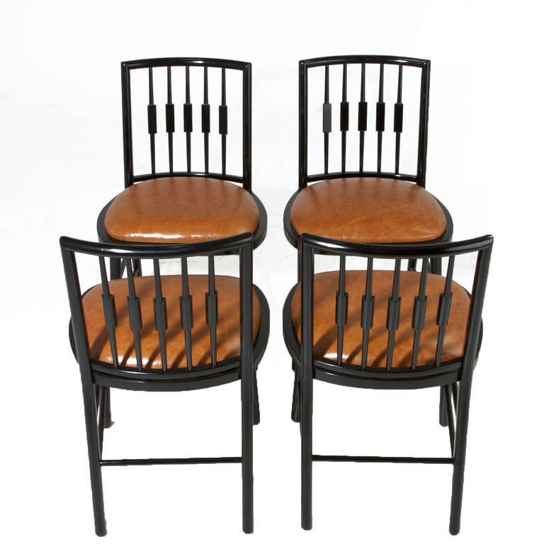 Room Chairs Set Of 4 Dining For Sale Black