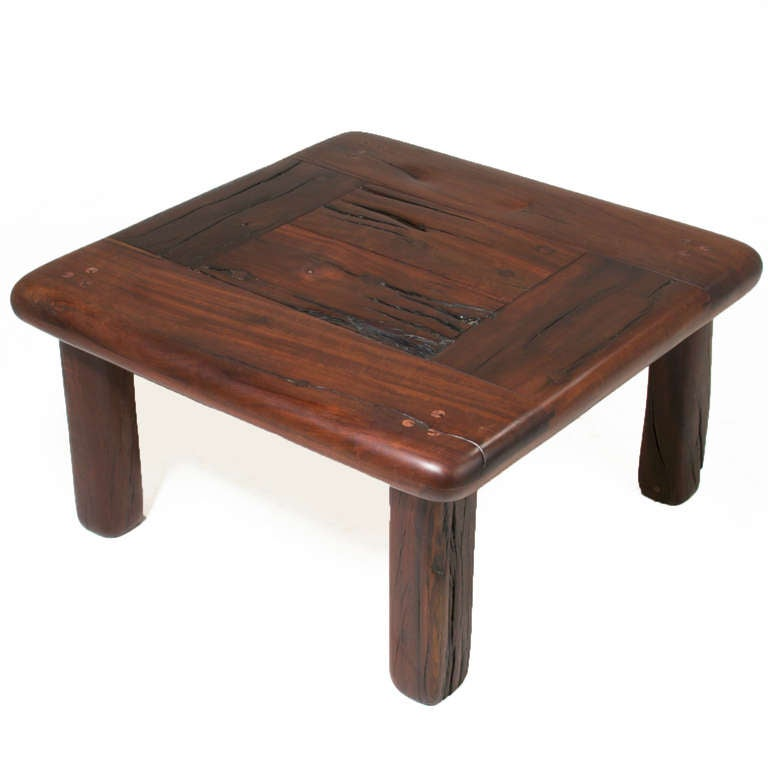 Pair Of Vintage Side Tables Or Coffee Table Made From