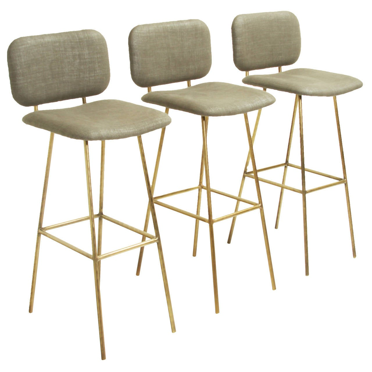 The Brass Petra Bar Stool by Thomas Hayes Studio at 1stdibs : 1831542l from www.1stdibs.com size 1280 x 1280 jpeg 100kB