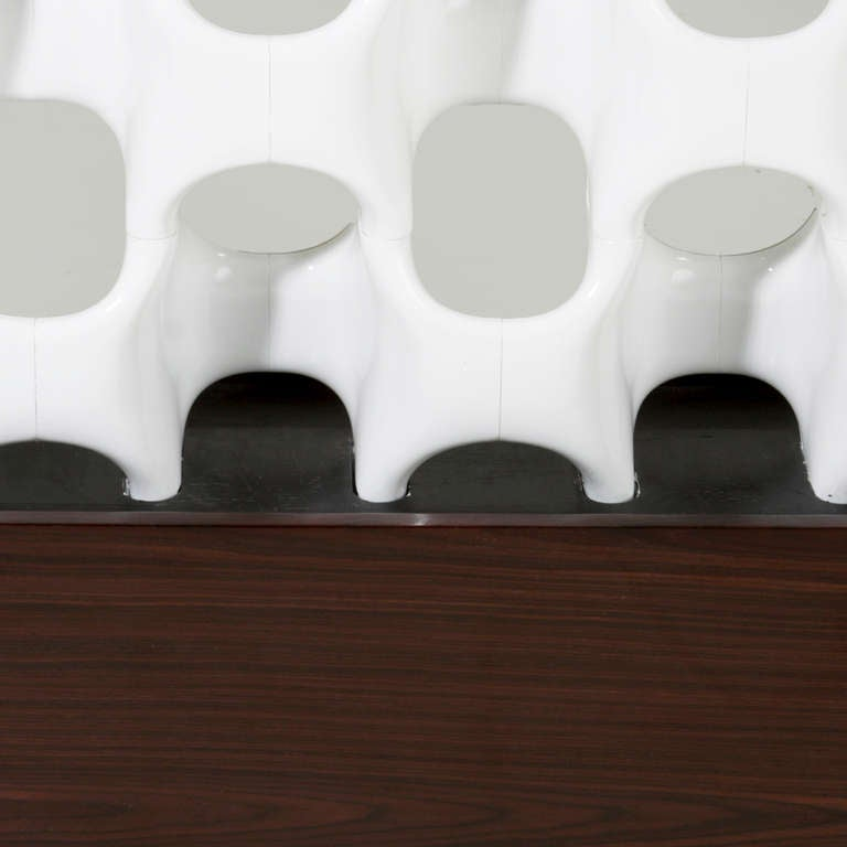 Sculptural Fiberglass Room Divider by Don Harvey For Sale 1