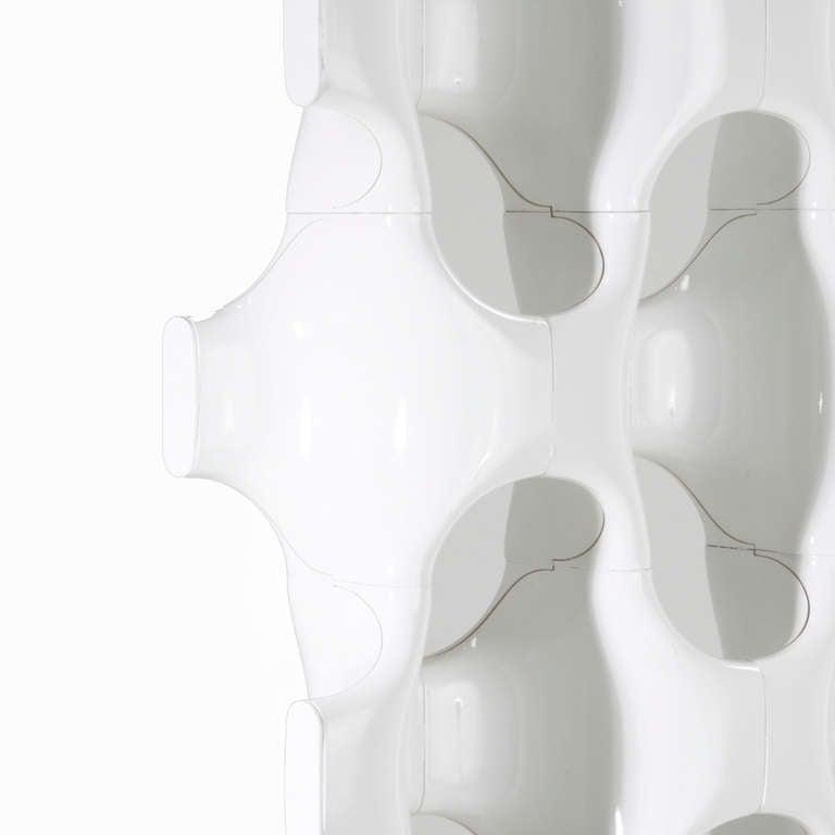 Sculptural Fiberglass Room Divider by Don Harvey For Sale 3