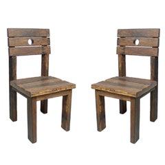 Two Ipe Deck Chairs By Zanine de Zanine