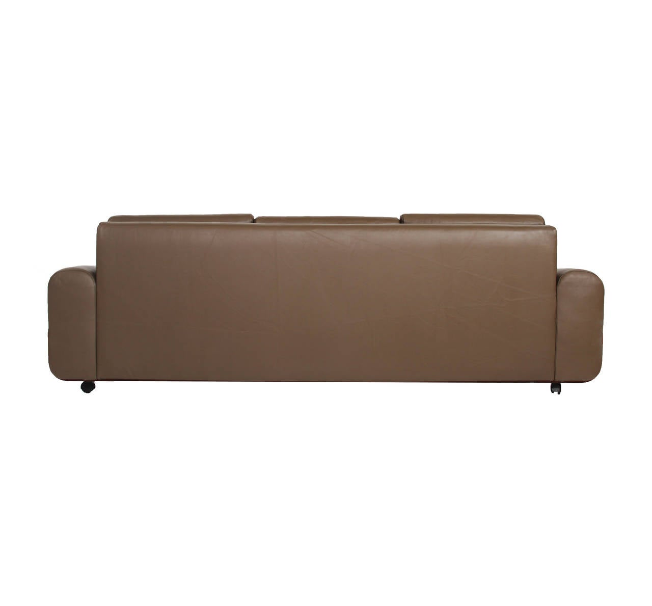 Tendo Brasileira Rosewood and Leather Sofa 4