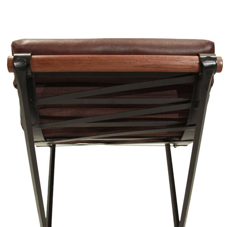 The Iron And Rolled Seat Bar Stool By Thomas Hayes Gallery