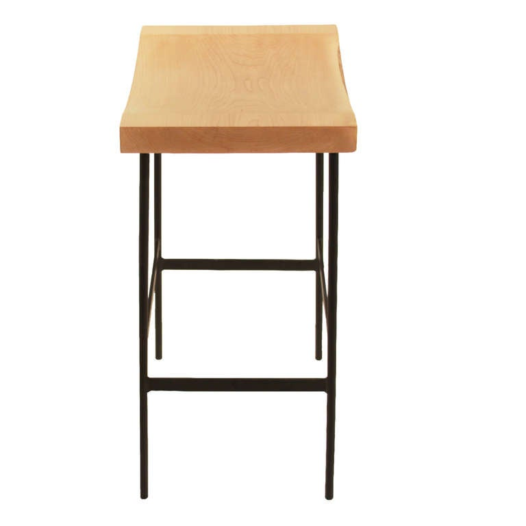 The Bunda Stool In Maple By Thomas Hayes Studio At 1stdibs