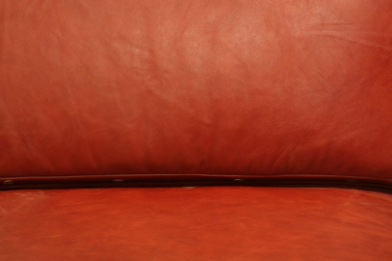 Custom Sofa with Floating Bookshelf by Sergio Rodrigues 7