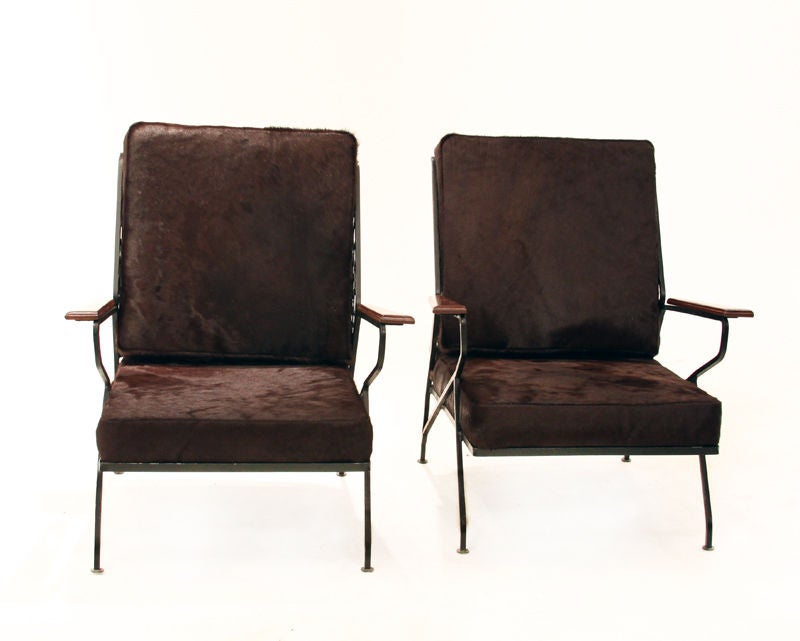 Salterini tall lounge chairs by Maurizio Tempestini image 2