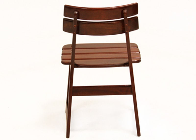 "Late 20th Century Organic Modern Sergio Rodrigues ""Taj"" Vinhatico Wood Outdoor Chair For Sale"