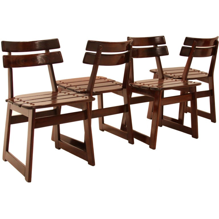 "Organic Modern Sergio Rodrigues ""Taj"" Vinhatico Wood Outdoor Chair For Sale"