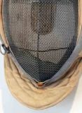 Antique Fencing Mask with Leather Detail image 6